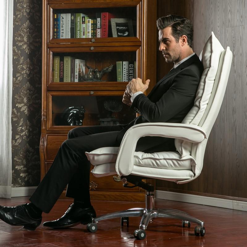 Бытовая вилла босс стул белый черный кофе Хаки стул