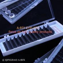0.18 1pc/lot excellent quality A-RIX silk minky eyelash extensions 1pc individual eyelash J/B/C/D curl