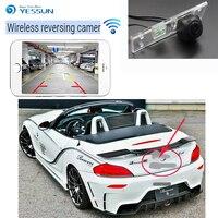 YESSUNNew Arrival! For BMW Z4 E85 E86 E89 2009~2014 wireless car reversing camera waterproof Full HD