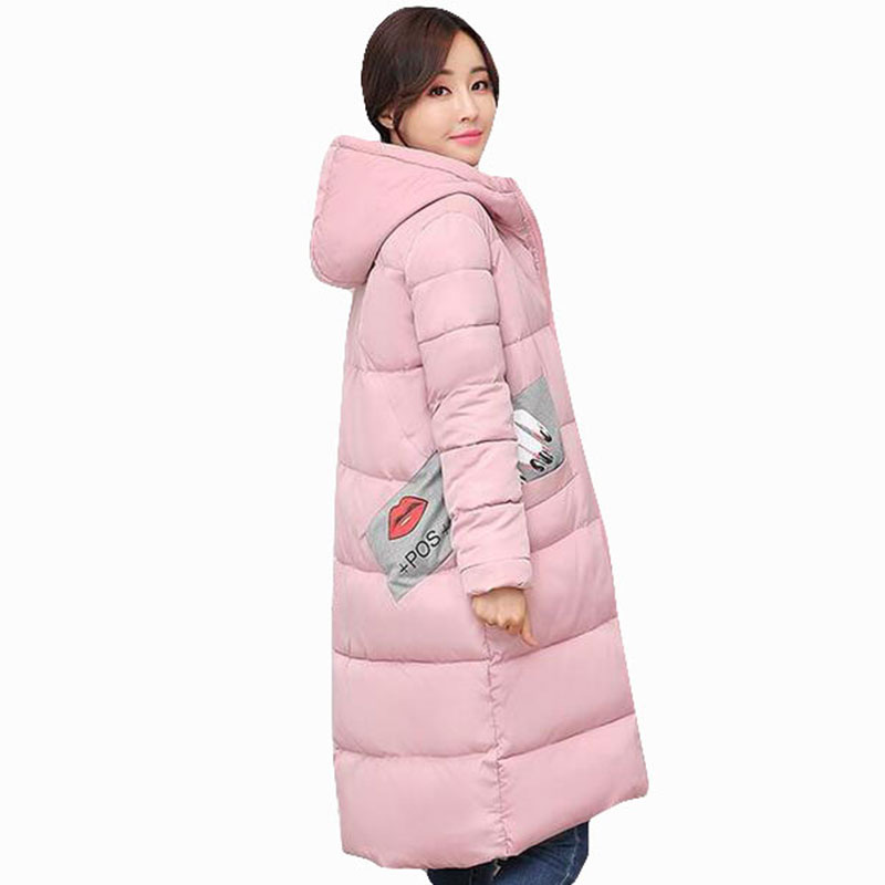 New Winter Jacket Women long coat Slim Plus Size 4XL Thickening Larger Cotton-padded Outerwear Parka hooded snow Jacket QH0498 корм tetra tetramin xl flakes complete food for larger tropical fish крупные хлопья для больших тропических рыб 10л 769946