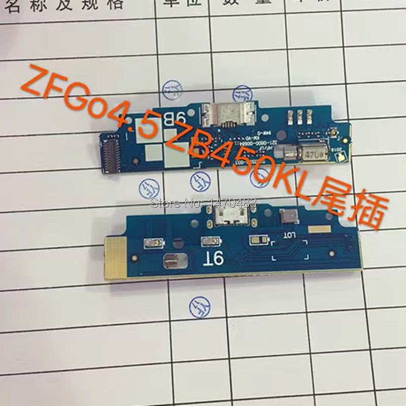 BINYEAE USB Plug Charge Board USB Charger Plug Board Module Repair parts For ASUS Zenfone GO 4.5 ZB450KL Smartphone
