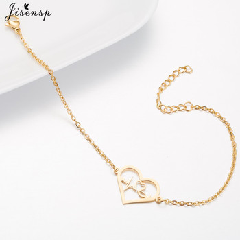 Medical Alert ID Bracelet ECG Heartbeat Bracelet Stainless Steel Chain Bangle 4