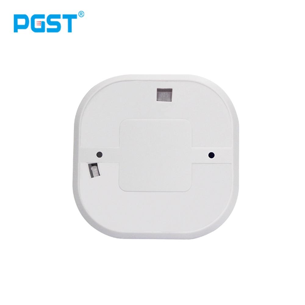 Closeout DealsPGST Sensor Alarm Smoke-Detector Fire-Equipment 433mhz Home-Security Wireless