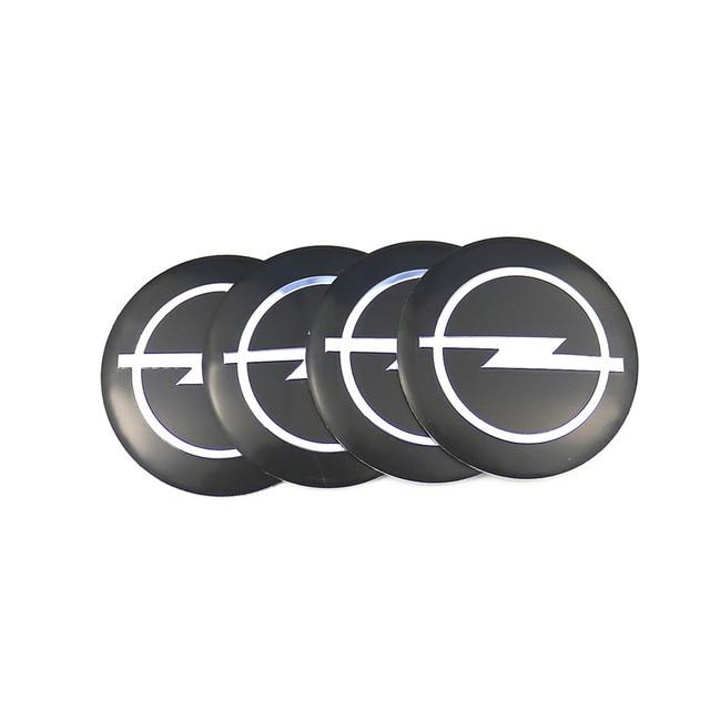 Estilo de coche de 4 piezas de centro de la rueda Hub DE LA TAPA 56,5mm emblemas para Opel Astra H G J Corsa Insignia antara Meriva Zafira