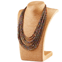 1pc Bohemian Style Long Necklace Handmade Beads Chainbone Chain Vintage Ethnic Necklace Women Accessories Jewelry For Best Gift