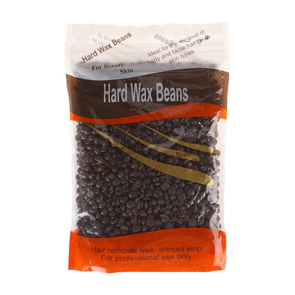 chocolate depilatory hot film hard wax beans pellet waxing. Black Bedroom Furniture Sets. Home Design Ideas