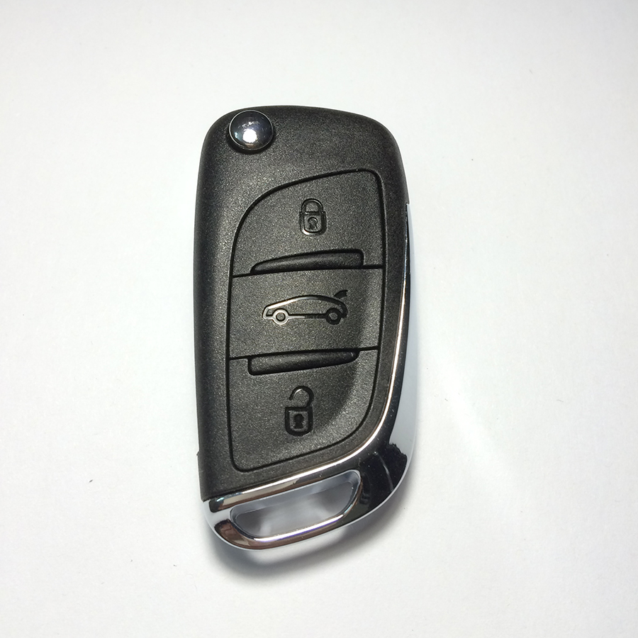 Excellent Original 3 Button Folding Remote Key Citroen C5/DS3 433MHZ - Auto world store