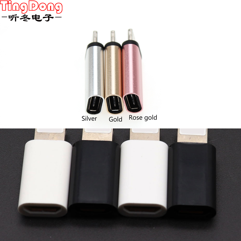 Type C Adapter To Micro USB For Samsung Cable Converter Charging Data For IPhone X 8 7 6 Xiaomi Redmi 4x 5 Plus Type-c OTG