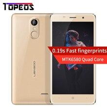 "Leagoo M5 Leagoo M5 Plus Smartphone 3G 5.0 ""Android 6.0 MTK6580 Quad Core 2 GB + 16 GB D'empreintes Digitales 8MP 2300 mah WCDMA 3G Mobile Téléphone"