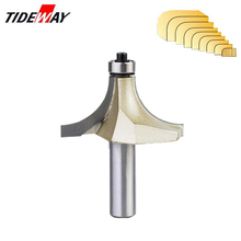 Tideway Round-Over Router Bits for wood Woodworking Tool 2 flute endmill with bearing milling cutter Corner Round Over Bit huhao 1pc 1 2 inch shank half round bit 2 flute endmill router bits for wood with bearing woodworking tool milling cutter