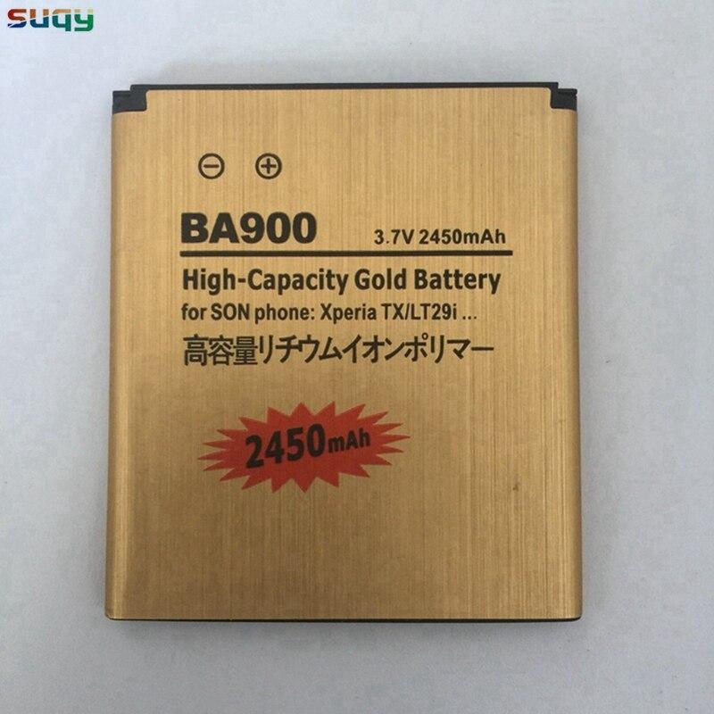 Suqy LT29i recargable batería para SONY Xperia E1 J L M TX LT29i ST26i C1904 C2105 SO-04D AB-0500 BA900 de la batería del teléfono