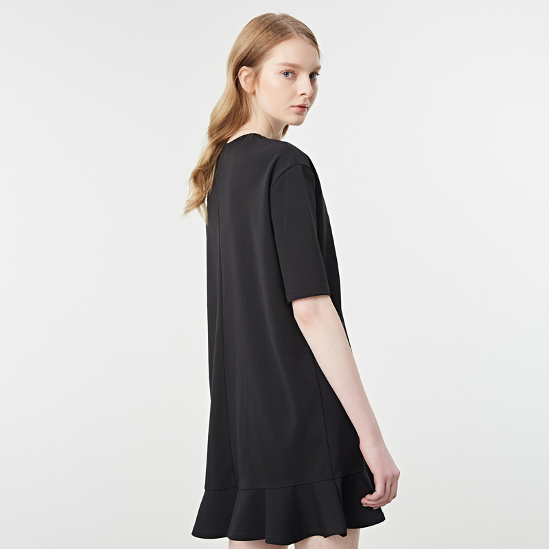 BOOTYJEANS 2017 Nuevo diseño lindo hoja fondo blanco negro Color ...