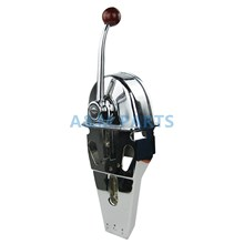 Universal Boat Single Control Lever Marine Engine Outboard Control Handle Top Mount Zinc Alloy