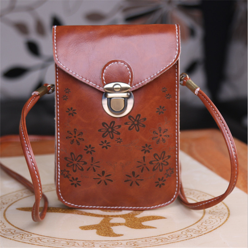 Hot New Women Mini Flap shoulder bags Bags Women's Wallets Mobile Phone Pouch Female Coin purses mini handbag