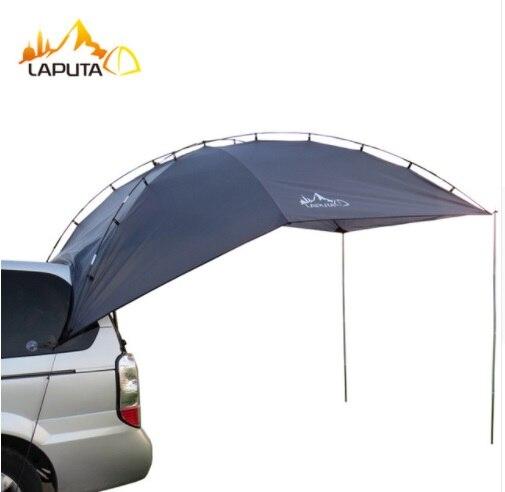 Top qualité 3-4 personne voiture abri de soleil en plein air Camping tente grand auvent voiture Pergola ombre de soleil pour auto conduite hangar tente