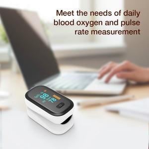 Image 2 - نبض مقياس التأكسج الإصبع مقياس التأكسج المحمولة نبض أوكسيميتري هوسهول الصحة مراقب معدل ضربات القلب فنجر زبع الأكسجين
