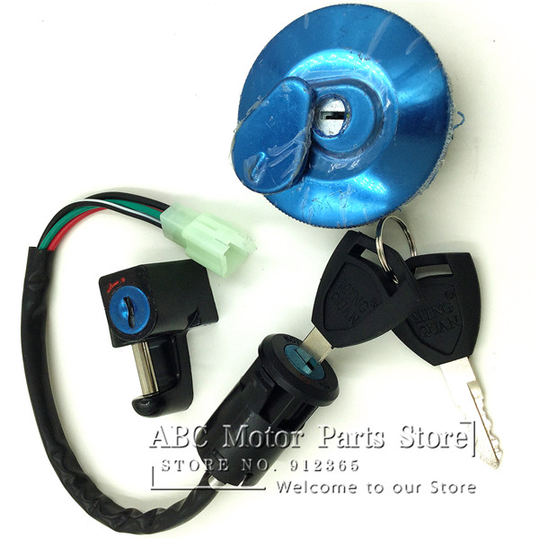 online buy whole ignition switch honda from ignition monkey bike z50 4 wire ignition switch kit fuel tank lock key cap for honda moto