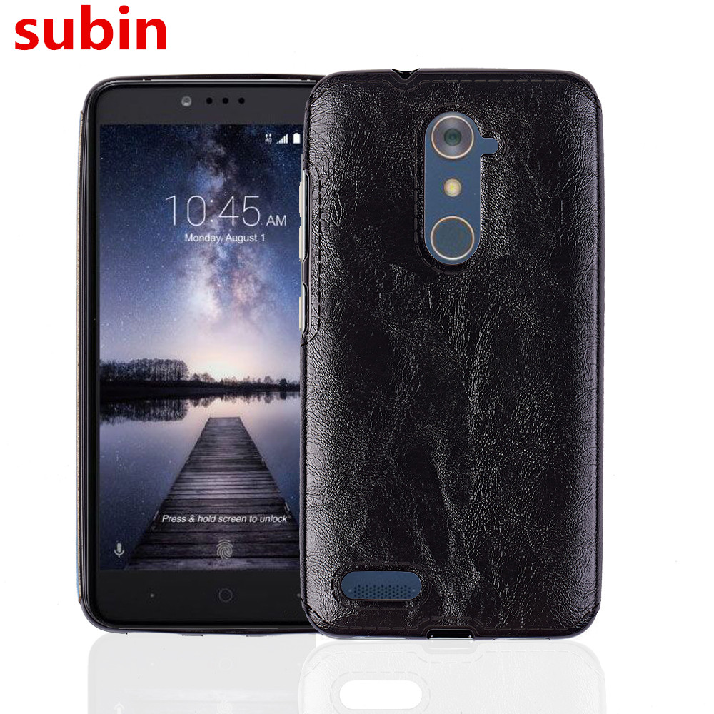 finest selection a48c2 18669 For ZTE Zmax Pro Z981 Case 6.0inch Soft TPU+PU Leather Paste skin Silicone  Cover For ZTE Zmax Pro ...