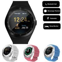 LisWale Smartwatch Bluetooth Reloj Inteligente 2G GSM SMS Sync Soporte Tarjeta SIM TF Ronda Reloj Mp3 Reloj Usable PK GT08 X3