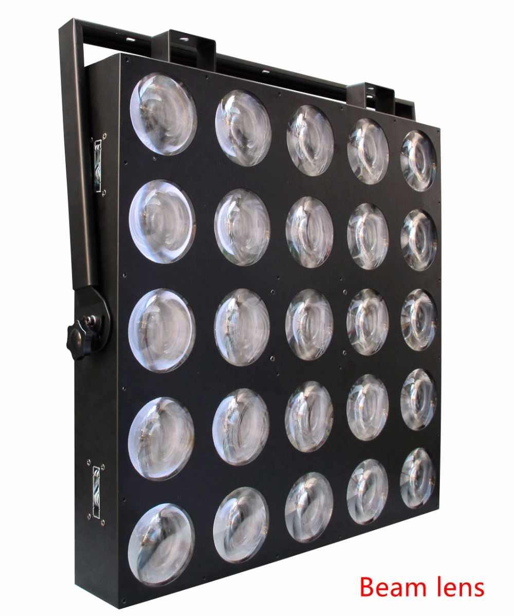 Freeshipping 25x9W RGB 3IN1 LED Matrix 25X9W Blinder Light DMX 84/75/30/6 DMX Channel 5X5 Stage Audience Tyanshine TP-M25 RGB
