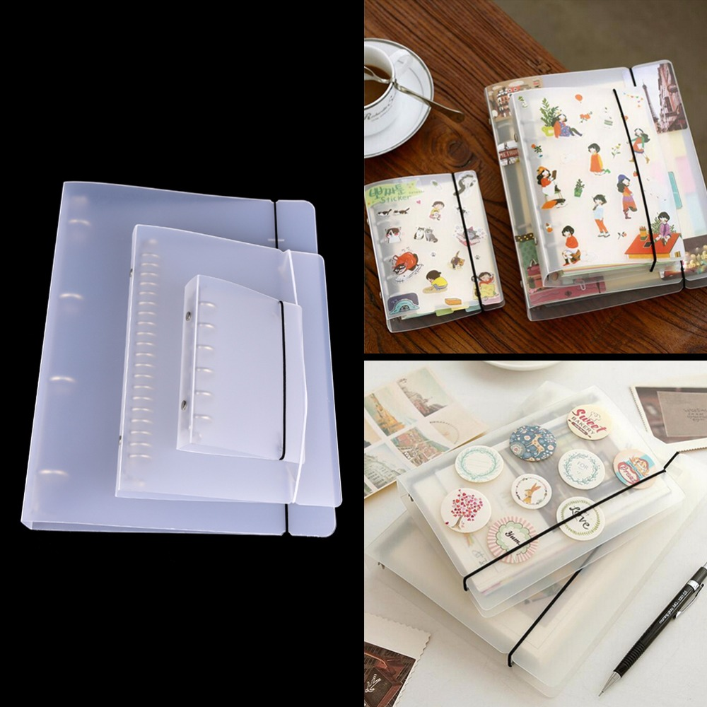 Office & School Supplies 1xnotebook Cover File Folder Refillable Ring Binder Spiral A7 20 Holes Binder Planner Cover Office School Stationery