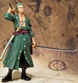 Японии Аниме One Piece Roronoa Зоро Новый Мир Figuarts Фигурку Игрушки ИЗ ПВХ Фигура Куклы Подарок