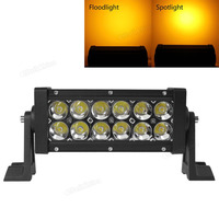 2520LM 12 X 3W Multifunction Stroboflash Double Stack LED Light Bar Light With Wireless Remote Control