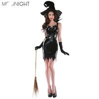 Moonight Хэллоуин костюмы ведьм De noël Карнавальная Одежда для взрослых костюм феи платье на костюмированную вечеринку