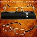 TR90 hombres mujeres gafas de lectura HD antifatiga portátiles de gama alta ultra ligero gafas de moda + 1.0 + 1.5 + 2.0 + 2.5 + 3.0 + 3.5 + 4.0