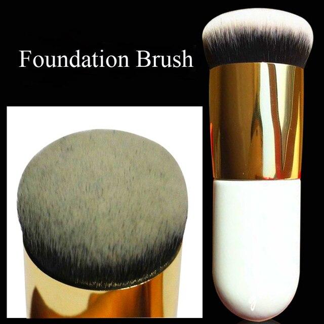 1Pc Foundation Brush Single Brush Cosmetic Foundation Blending Blush Powder Brush Large Round Brush For Makeup