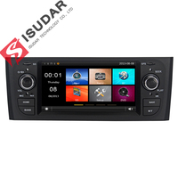 Isudar Car Multimedia Player GPS Canbus For Fiat/Grande/Punto/Linea 2007 2012 Microphone Tire Pressure Monitoring System DVR FM