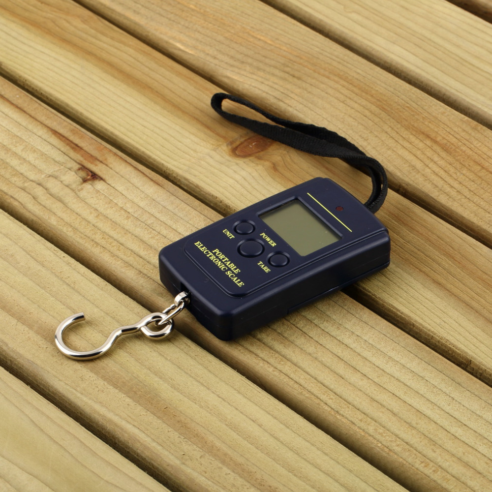 40Kg Digital Hanging Luggage Fishing Weight Scale Portable Kitchen Scales Cooking Tools Electronic Household Hook Scales Led New