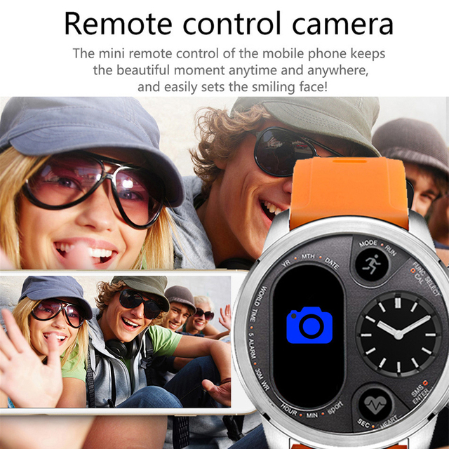 Blood Pressure & Heart Rate Monitor Pedometer Waterproof Smart Watch 1