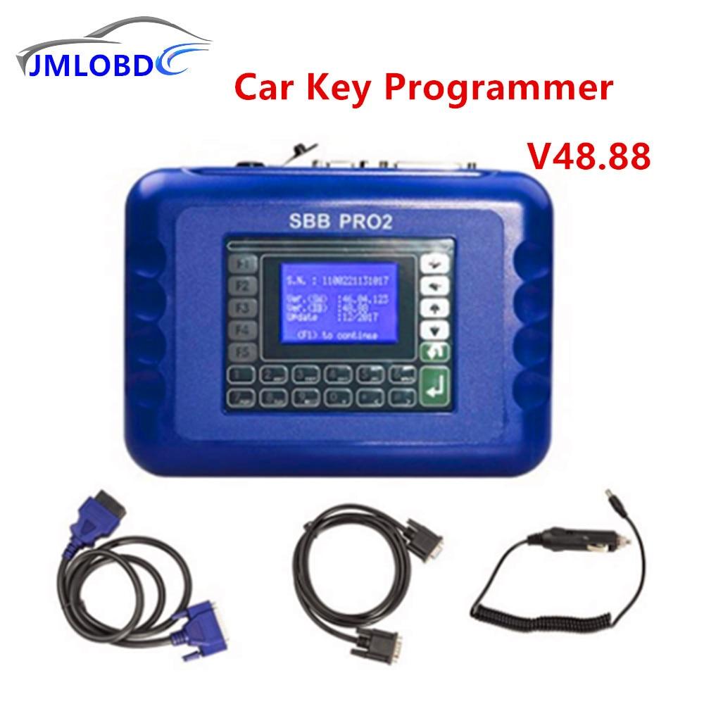 SBB Key Programmer V33.01 V33.02 V46.02 v48.88No Token Limit Auto Key Programmer SBB Immobilizer Programmer Support brazil car