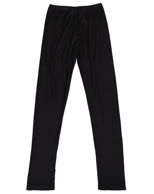 new spring women's silk legging natural silk knitted double faced ankle length trousers