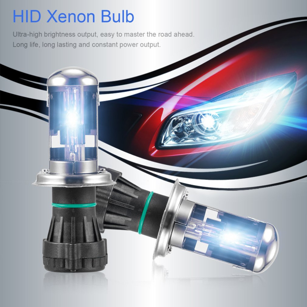 H4 HID Xenon Lamp Car Light 12V 35W/45W 6000K Conversion Kit for Car Truck Fog Lights Lamps Replacement Drop Shipping