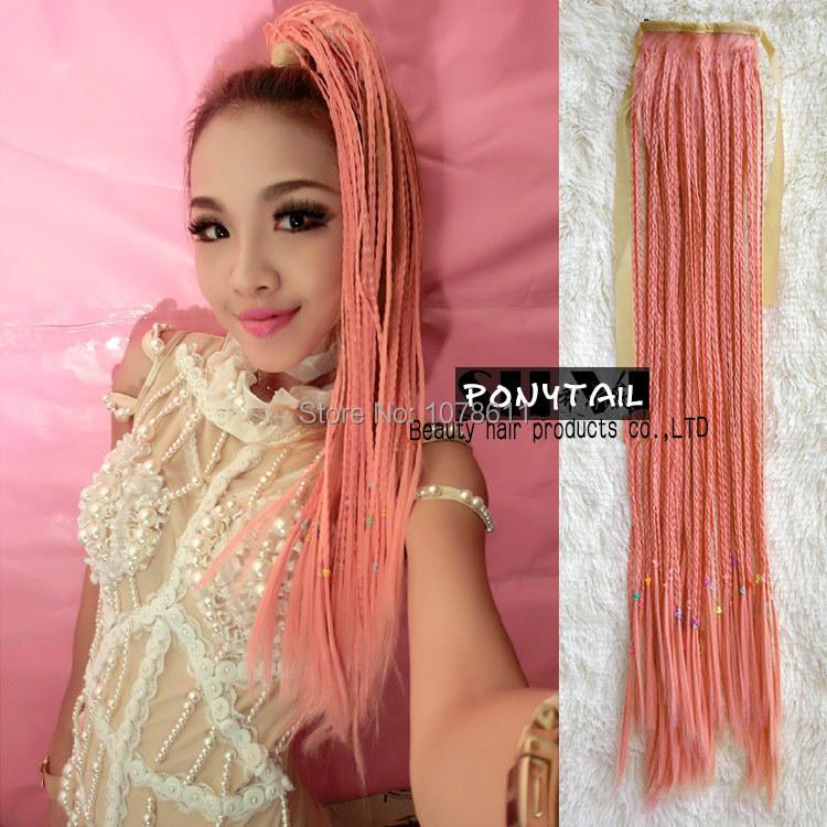 Stupendous Online Shop Long Drawstring Braids Ponytail Wig Synthetic Hair Short Hairstyles Gunalazisus