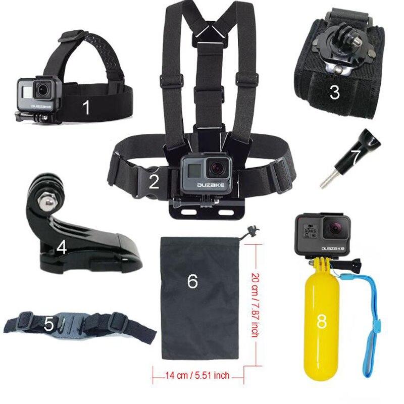 Kit de accesorios para Gopro hero 5 Cámara de acción Correa para el - Cámara y foto - foto 1