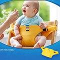 2017 Cinto Auxiliar De Jantar Infantil Bebês Crianças Cadeira De Jantar BB Faixas de Guarda de Segurança Cinto de Segurança Portátil