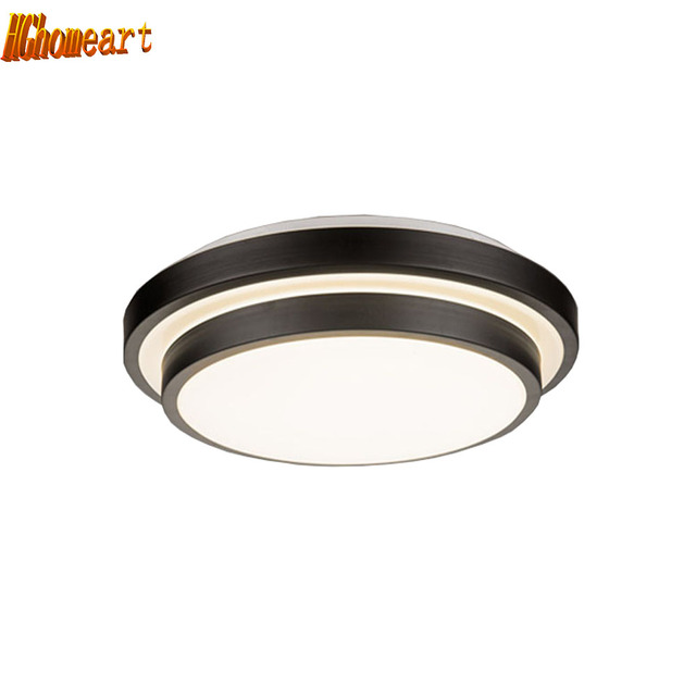 HGhomeart Nordic Retro Iron Flush Mount Ceiling Light Led Ceiling Lights  Bedroom Living Room Ceiling Lamp Luminarias Fixtures-in Ceiling Lights from  ...