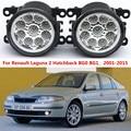 Для Renault Laguna 2 Хэтчбек BG0 BG1 _ 2001-2015 стайлинга Автомобилей передний бампер СВЕТОДИОДНЫЕ противотуманные фары высокой яркости противотуманные фары 1 компл.