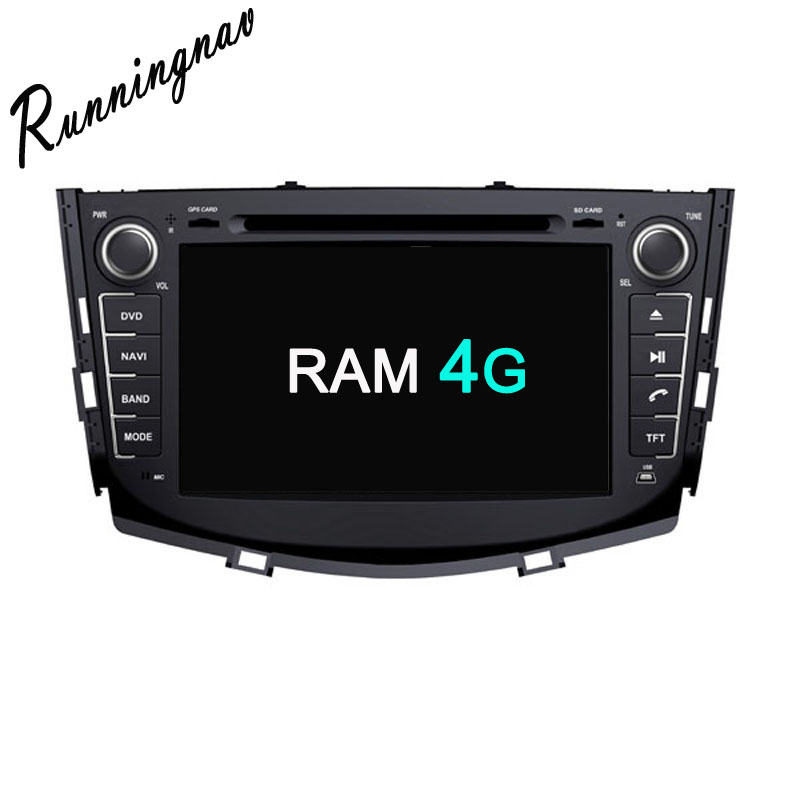 Octa Core RAM 4G ROM 32G Android Fit LIFAN X60 SUV 2011 2012 2013 2014 2015
