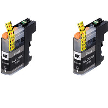 2BK LC123 ink cartridge compatible For Brother J6920DW J870DW J245 J650DW DCP-J4110DW J152W J552DW J752DW J172W Inkjet Printer 1 set refillable ink catridge for brother lc161 lc 161 for brother dcp j152w j752dw mfc j245 470dw 650dw j870dw with newest arc