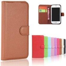 7152b37eb03 Lujo magnético pu cuero Wallet Flip teléfono cubierta caso para Samsung  Galaxy ACE 4 Ace4 estilo LTE G357 G357FZ SM-G357FZ coque