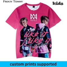 Frdun Tommy 3D Kids T shirt Marcus &martinus Short Sleeve Funny Printed Fashion Pullover High Quality 2018 NEW Tops Custom