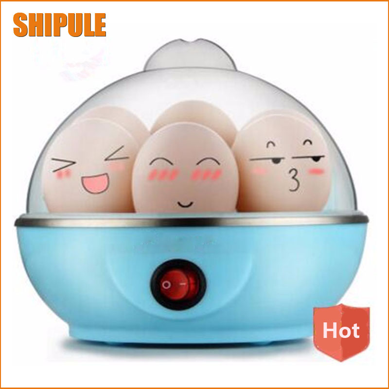 High Quality Multifunction Poach Boil Electric Egg Cooker Boiler Steamer Automatic Safe Power-off Cooking Tools Kitchen Utensil cukyi double layer multi function electric egg cooker boiler stainless steel automatic power off mini