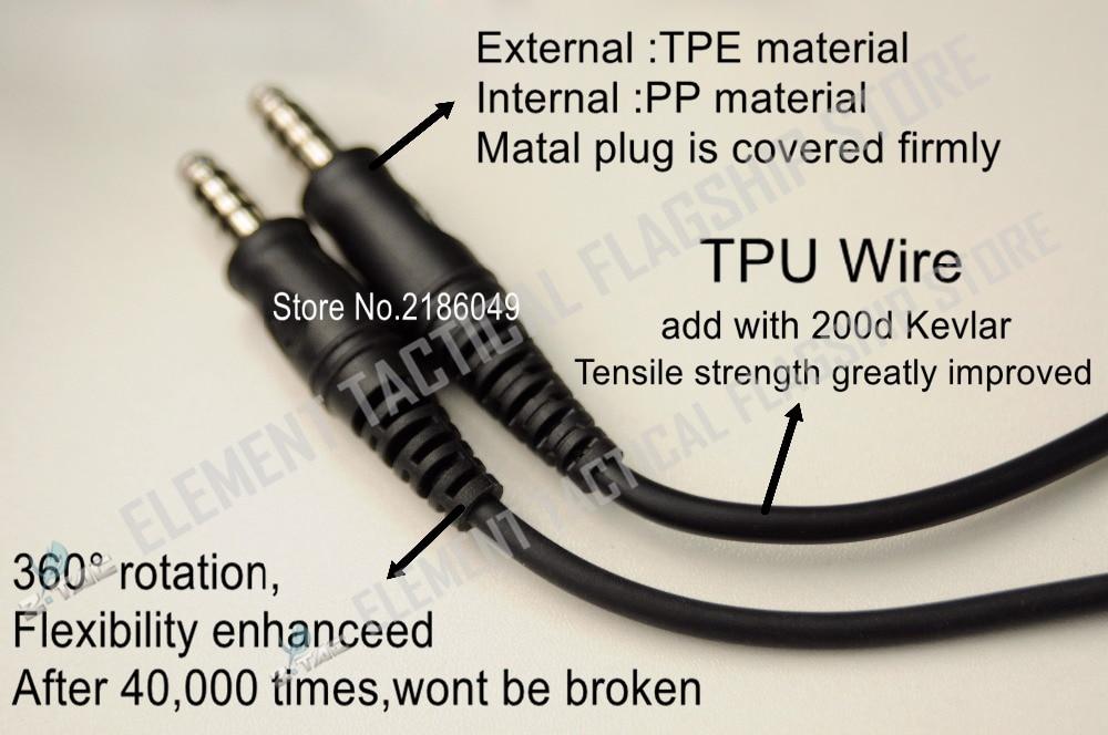 Z-tactical Anti Noise Z-TAC Sordin Headset Tactical Earphones Z111 DE With Tactical zPeltorPTT Military Standard Version Z112