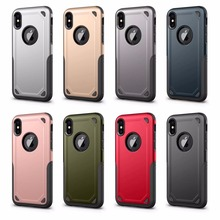 For iPhone 5 5S 6 6S 6 Plus Luxury 'Power-Armor' Hybrid Rubber Hard Phone Back Case Skin Cover For iPhone X 7G 8G 7 Plus 8 Plus стоимость