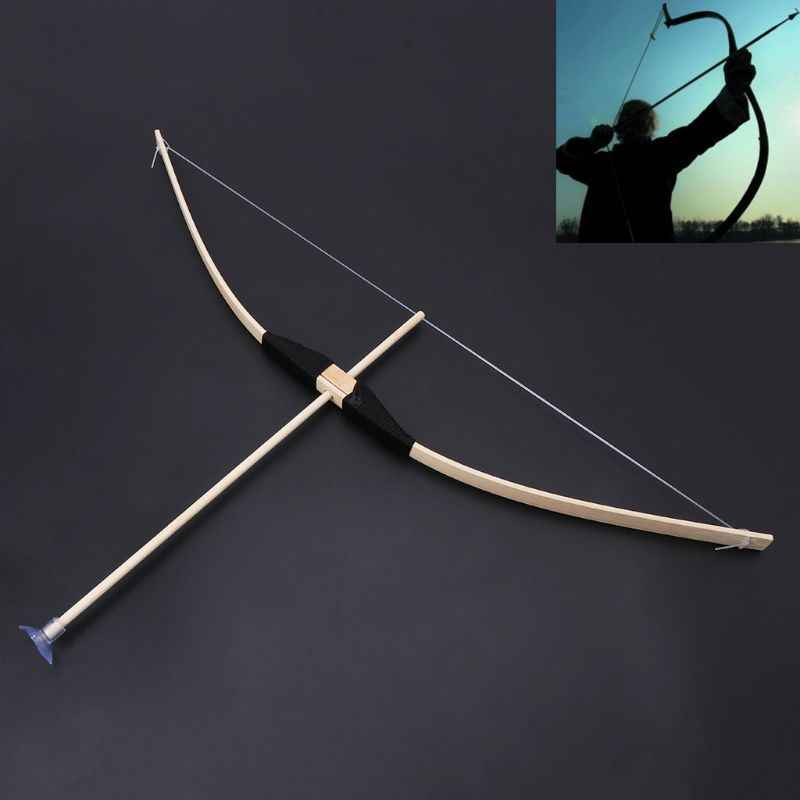 Veilig Bamboe Pijl En Boog Speelgoed Set Green Arrow Hero Cosplay Outdoor Sport Kids Toy Gift Jongen Gunsten Craft KAN -9
