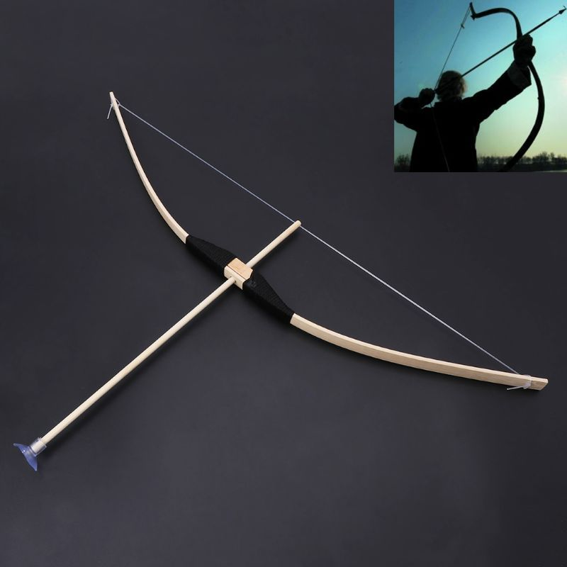 Safe Bamboo Bow And Arrow Toy Set Green Arrow Hero Cosplay Outdoor Sports Kids Toy Gift Boy Favors Craft MAY-9